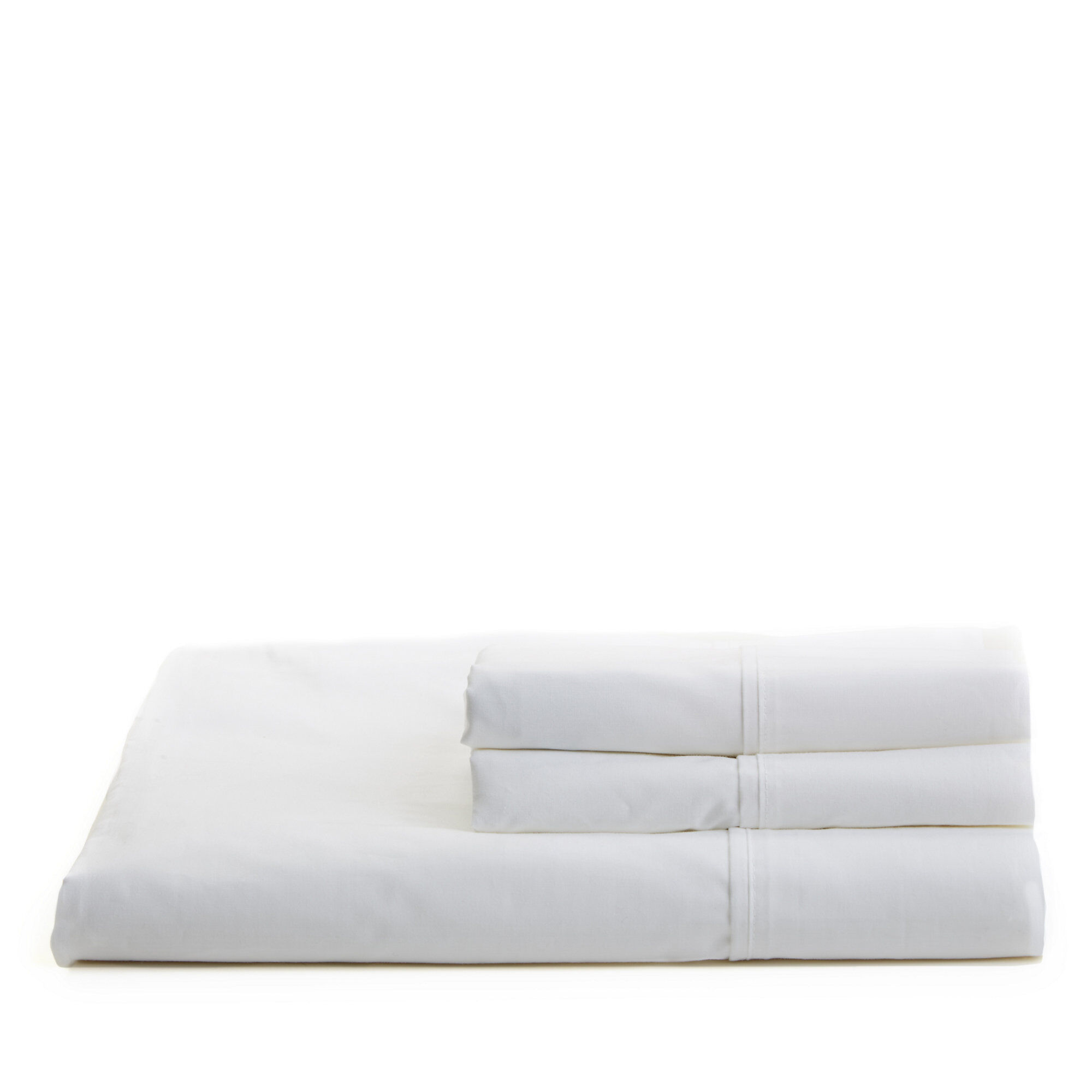 Nautica White Percale Sheet Set
