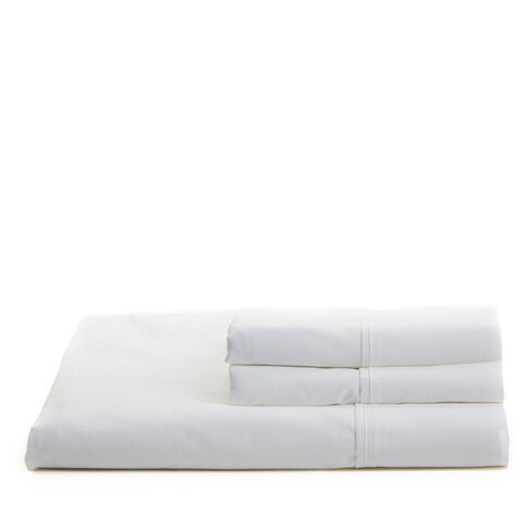 White Percale Sheet Set - White