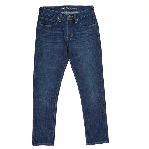 Boys' Skinny Fit Jeans (8-20) - Bayberry Blue