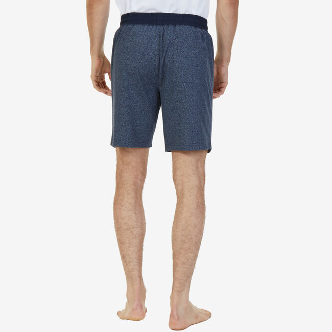 Slim Fit Sleep Shorts,Navy,large