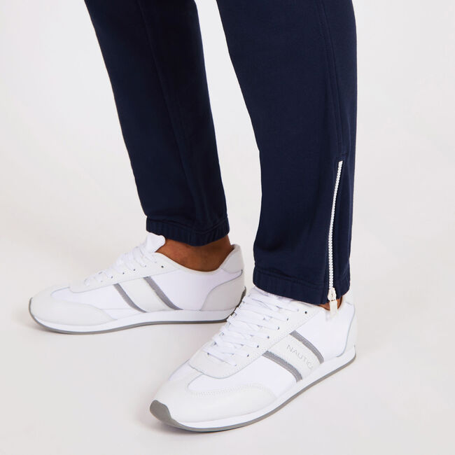 Big & Tall French Terry Souvenir Joggers,Navy,large