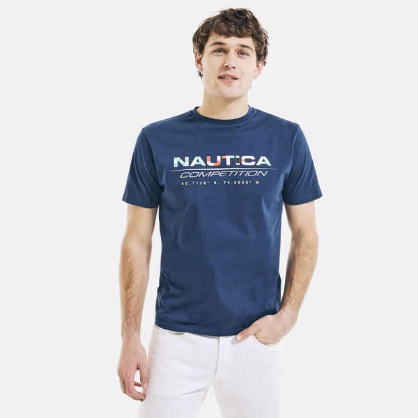COMPETITION LOGO GRAPHIC T-SHIRT - Navy