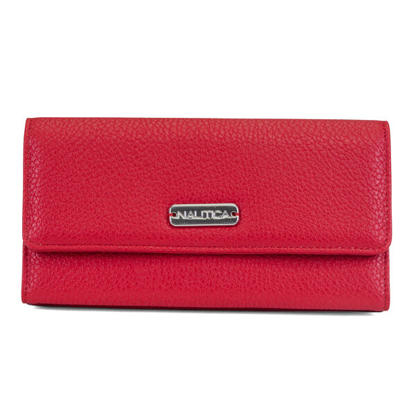MONEY MANAGER CONTINENTAL WALLET - Nautica Red