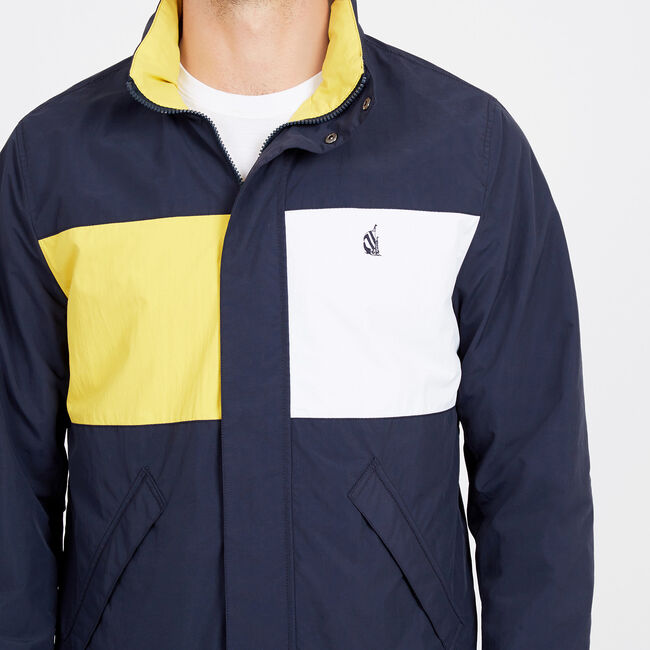 Spinnaker Reversible Bomber Jacket,Navy,large