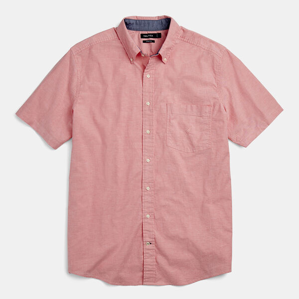 BIG & TALL CLASSIC FIT STRETCH OXFORD SHIRT - Coral Dream
