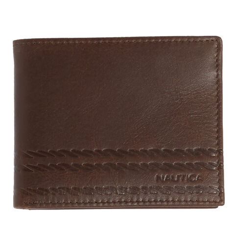 Helm Passcase Wallet - Brown Stone