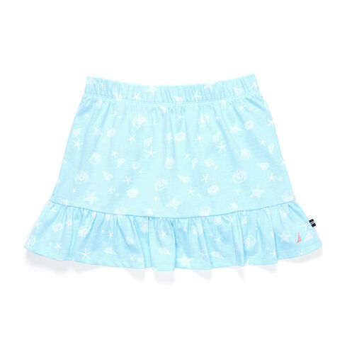 Girls' Pull-On Skirt With Ruffle Hem (7-16) - Star Sapphire