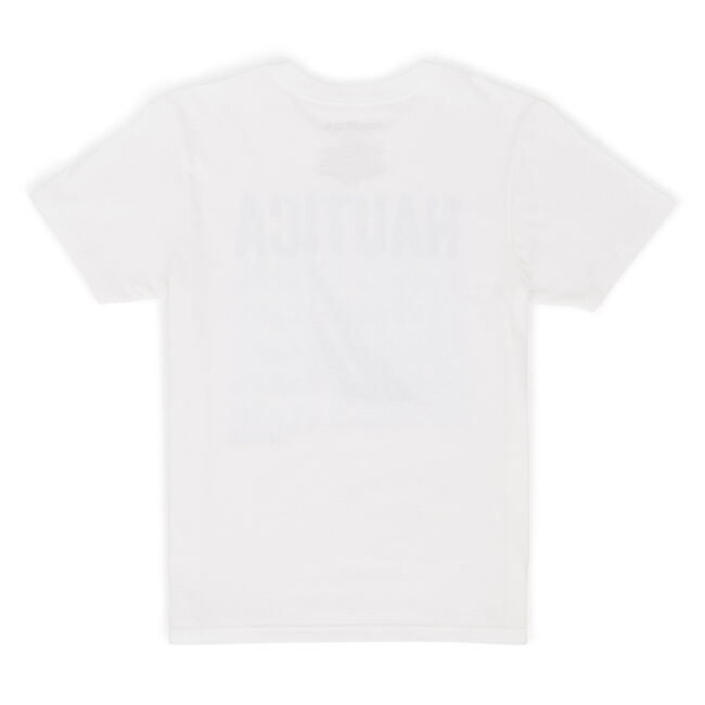 Boys' Turner Logo Graphic Short Sleeve Tee (8-20),White,large