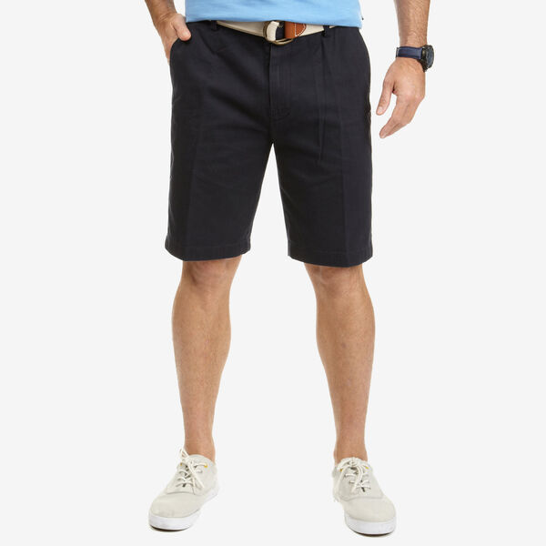Flat Front Short - True Navy