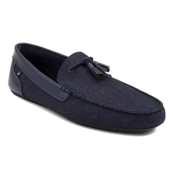 Weldin Denim Slip-On Loafers - Navy Dusk