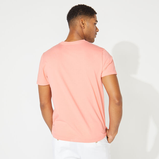 NAUTICA WAVE GRAPHIC TEE,Pale Coral,large