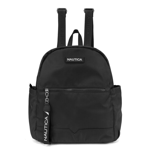 DIVER CANVAS BACKPACK - True Black