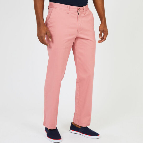 Classic Fit Stretch Twill Deck Pant - Desert Rose