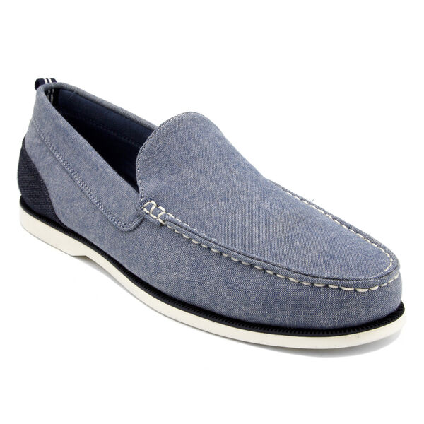 Minter Chambray Slip-On Shoes - Navy Dusk