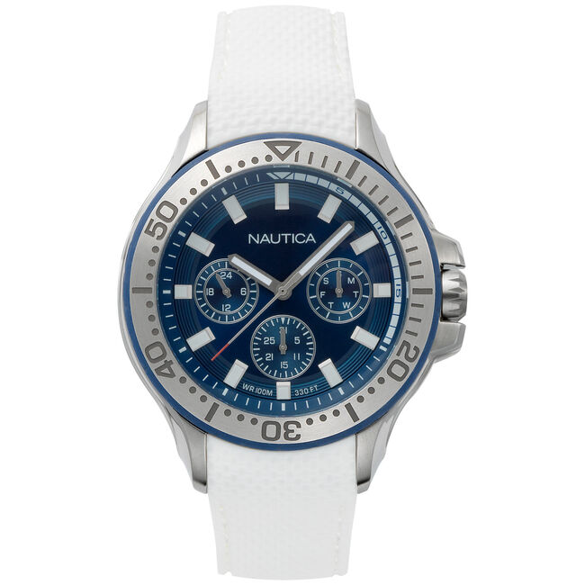 Auckland Multifunction Watch - White,Multi,large