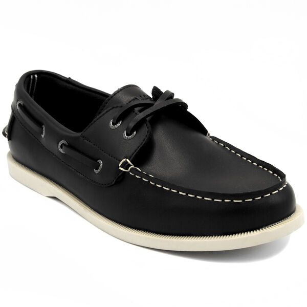 Nueltin Boat Shoes - True Black