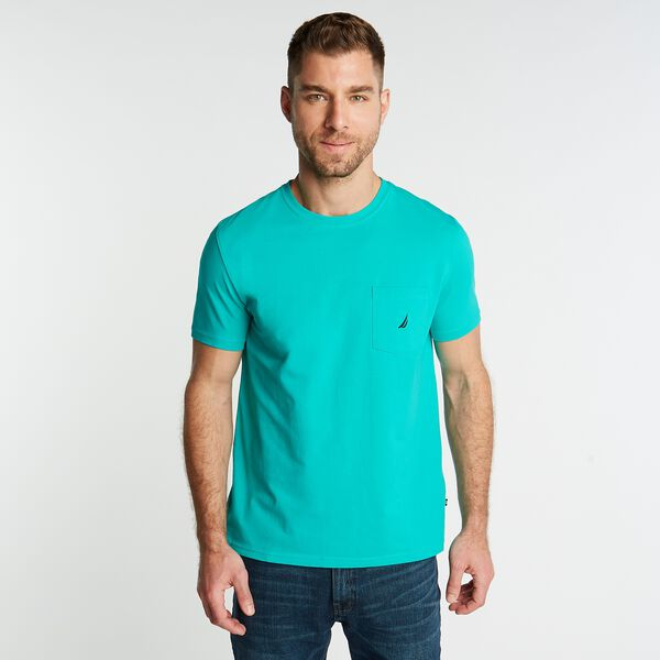 J-CLASS POCKET T-SHIRT - Pine Forest Heather