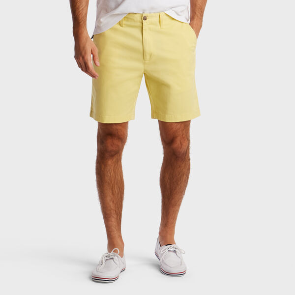 "8.5"" CLASSIC FIT DECK SHORT WITH STRETCH - Island Yellow"
