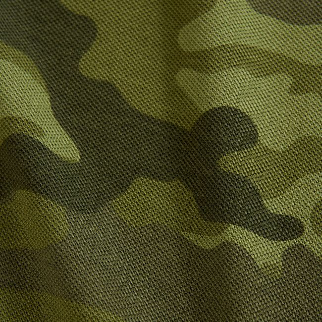 CLASSIC FIT CAMOUFLAGE POLO,Olive,large