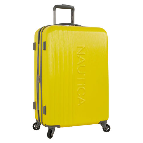 "Lifeboat 24"" Expandable Spinner Luggage - Yellow"