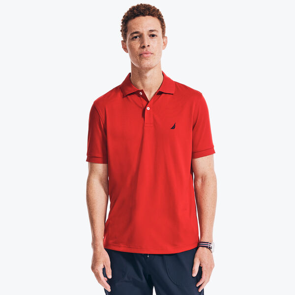 NAVTECH CLASSIC FIT PERFORMANCE POLO - Nautica Red