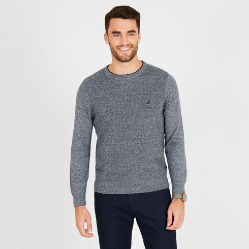 Navtech Performance Crewneck Sweater - Estate Blue