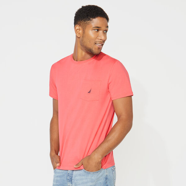 CLASSIC POCKET TEE - Persian Red