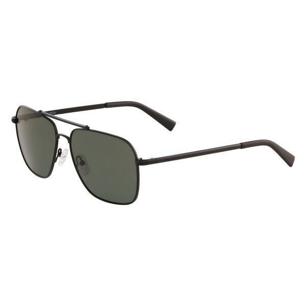 Navigator Sunglasses with Matte Frame - Black Onyx
