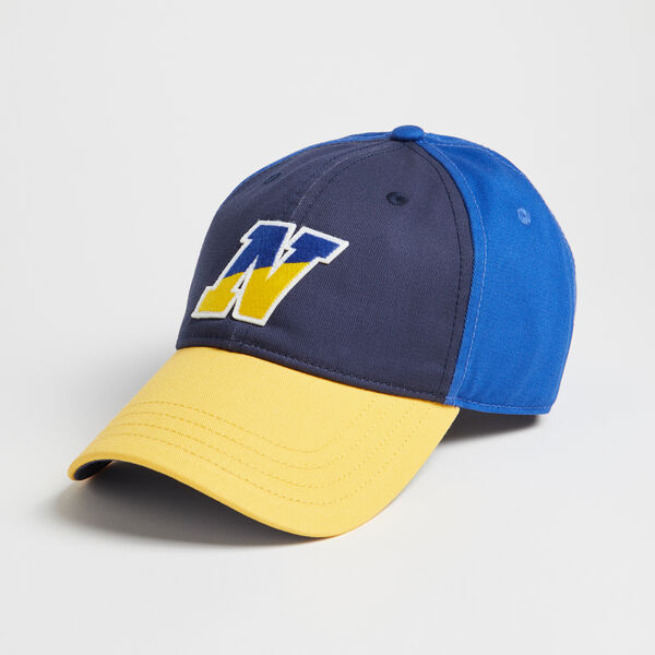COLORBLOCK N LOGO BASEBALL CAP - Bright Cobalt