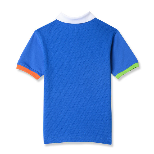 Little Boys' Jermaine Mesh Panel Heritage Polo (4-7),Clear Skies Blue,large