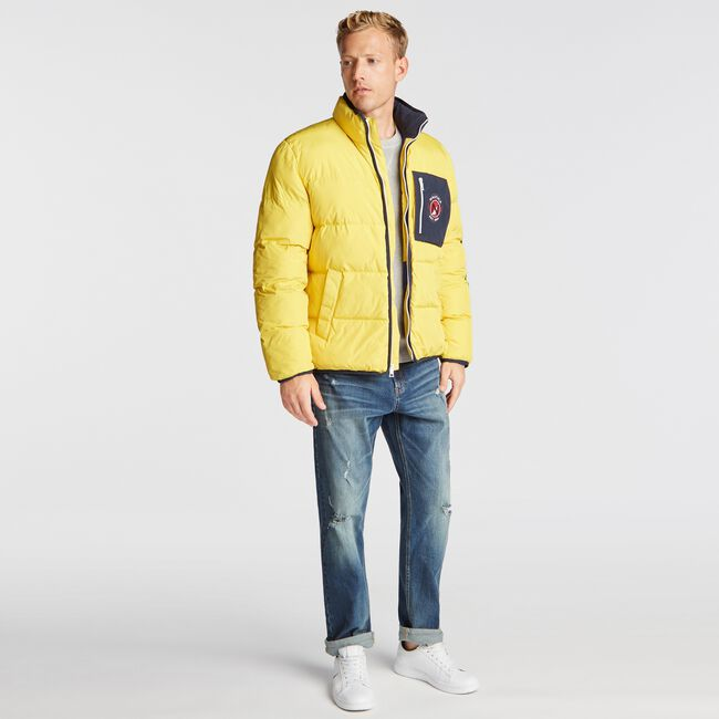 PUFFER TEMPASPHERE JACKET,Buoy Yellow,large