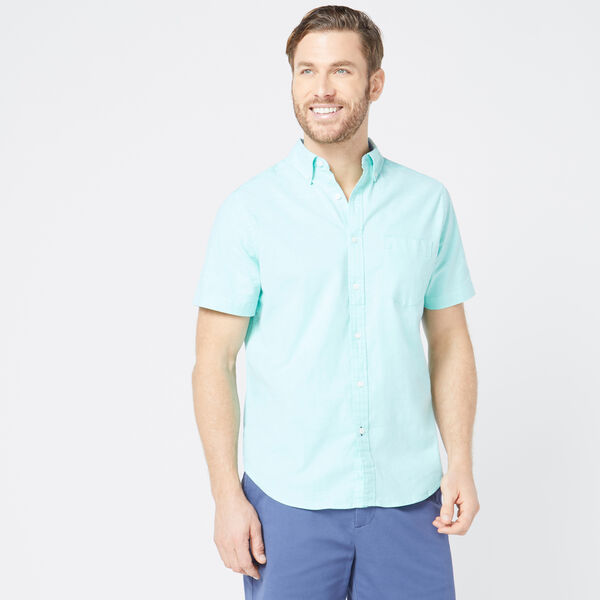 CLASSIC FIT STRETCH OXFORD SHIRT - Mint Spring