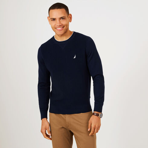 Navtech Performance Crewneck Sweater - Navy