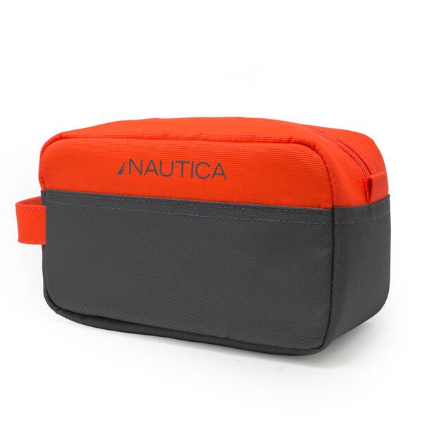 COLORBLOCK LOGO TRAVEL KIT - Orange