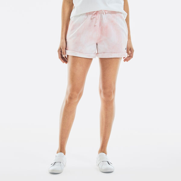 CLOUD WASH KNIT SHORT - Flare Red