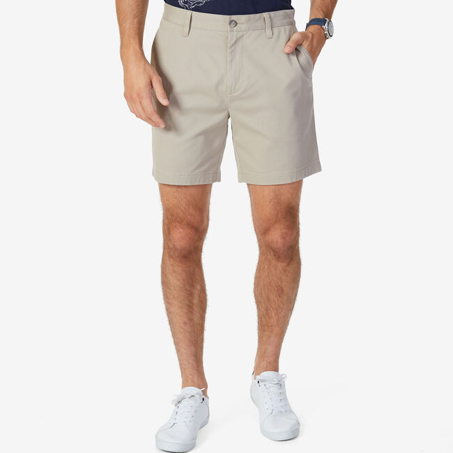 "6"" Stretch Deck Short   ,True Khaki,large"