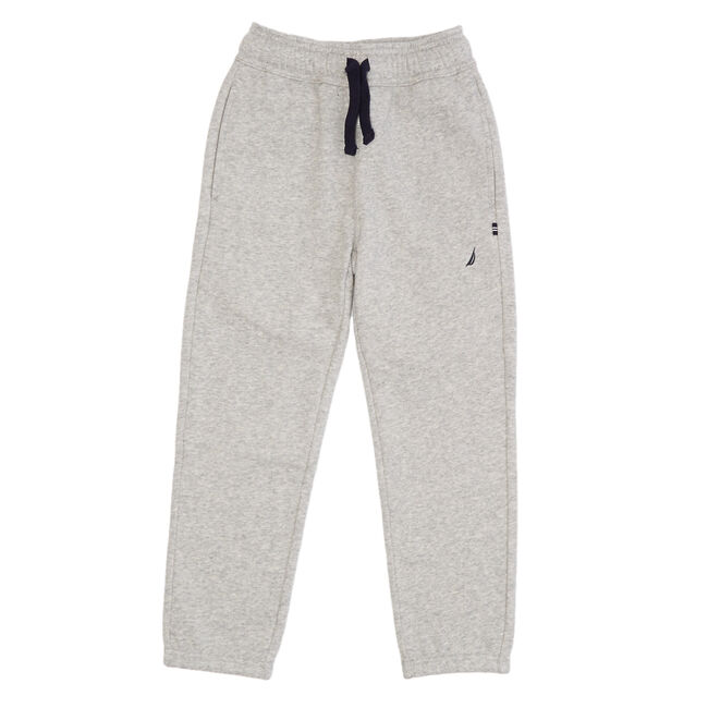 Little Boys' Active Drawstring Joggers (2T-7),Grey Heather,large