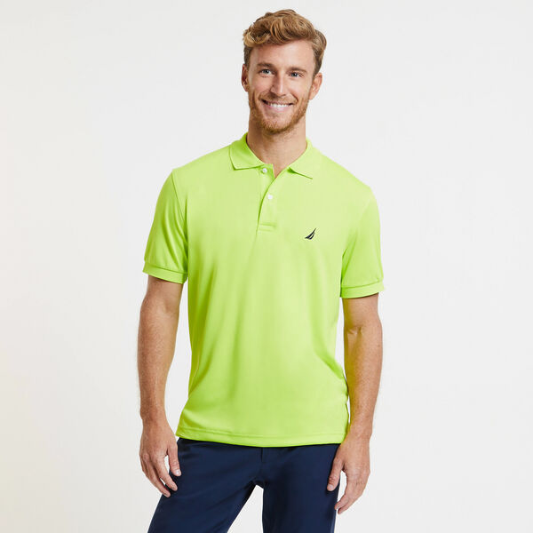 CLASSIC FIT PERFORMANCE POLO - Tropic Lime