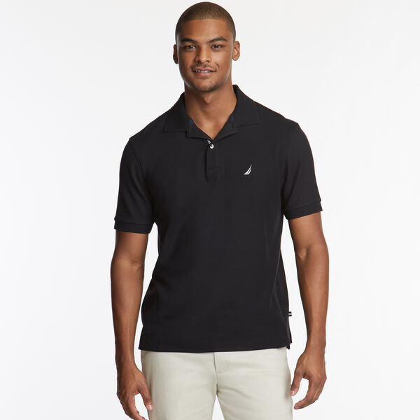 CLASSIC FIT PERFORMANCE DECK POLO - True Black