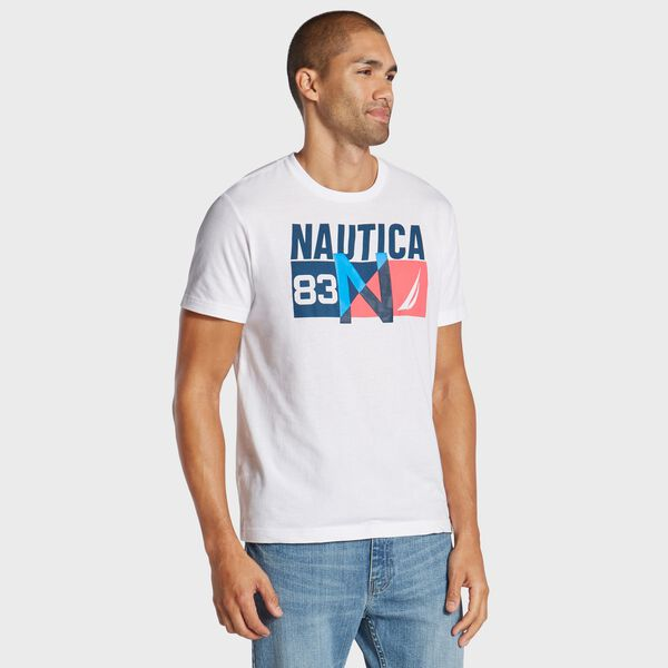 N-83 Short Sleeve T-Shirt - Bright White