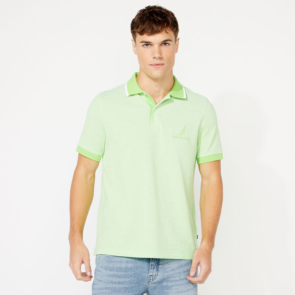 CLASSIC FIT OXFORD POLO - Freshlime