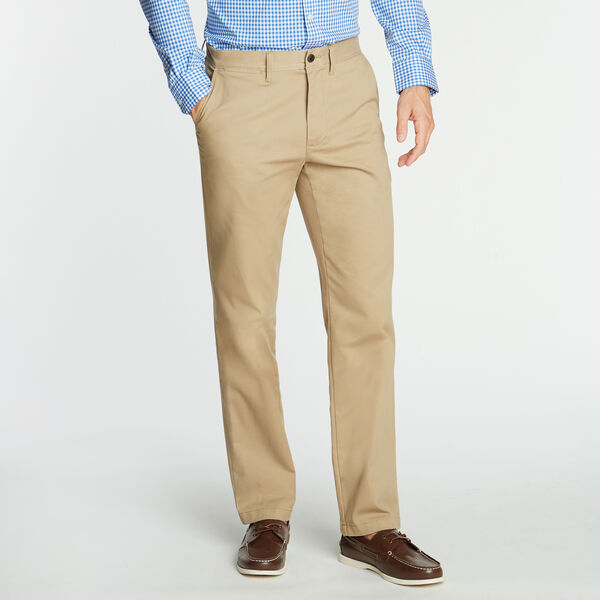 CLASSIC FIT WRINKLE-RESISTANT PANTS - Khaki Beach