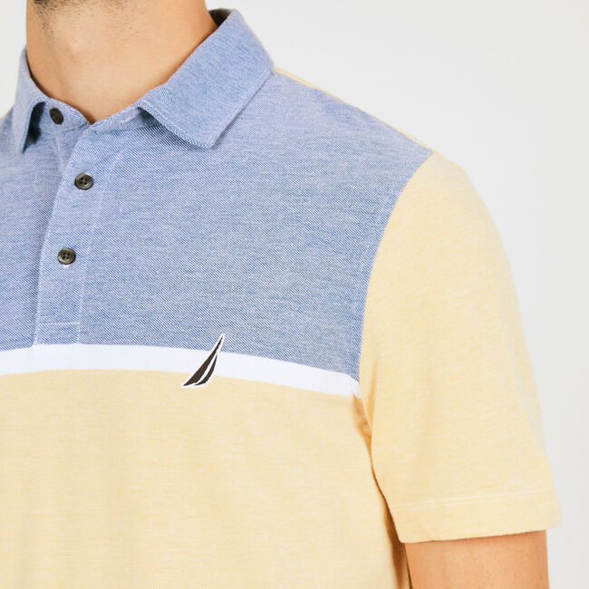 Classic Fit Jersey Palm Springs Polo,Sunfish,large