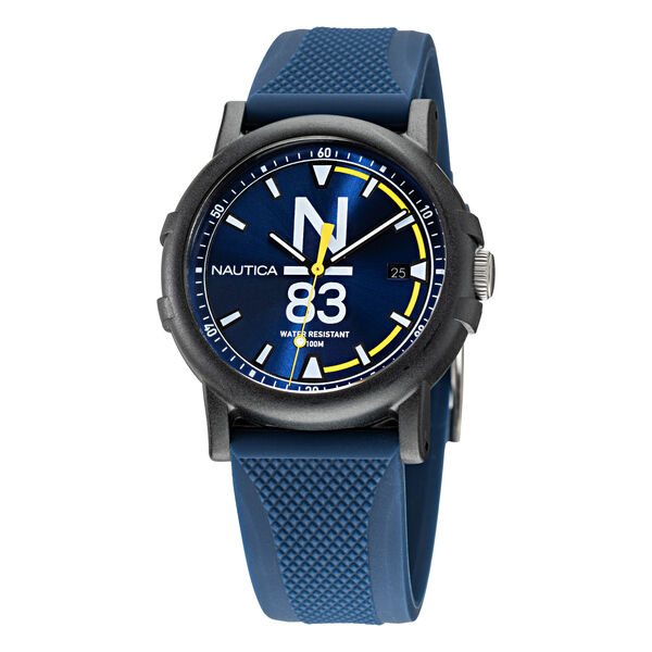ES PUJOLS TEXTURED SILICONE 3-HAND WATCH - Multi