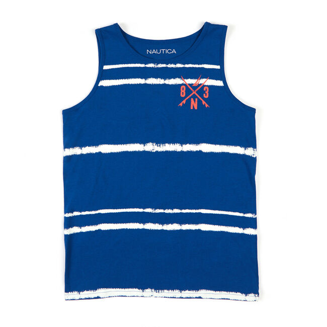 Boys' Midwick Graphic Tank (8-20),Navy,large