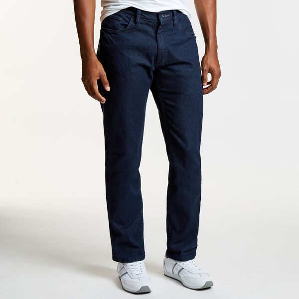 BIG & TALL STRAIGHT LEG JEAN IN DARK PACIFIC - Navy