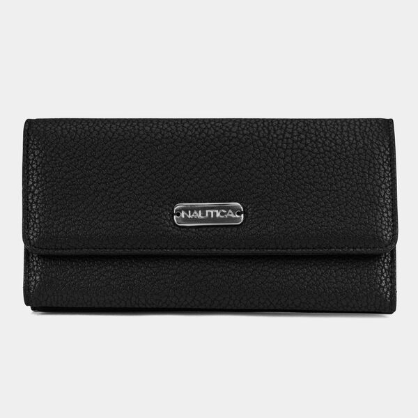MONEY MANAGER CONTINENTAL WALLET - True Black