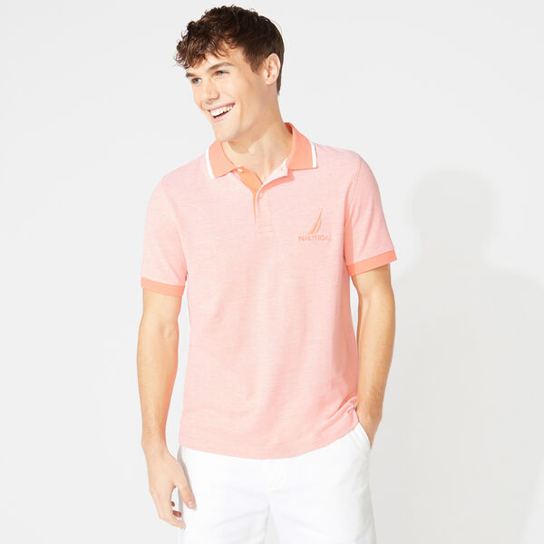 CLASSIC FIT OXFORD POLO - Livng Coral