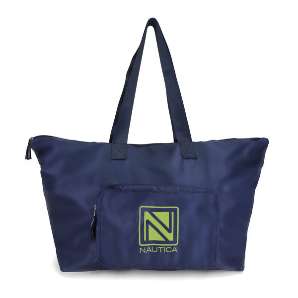 New Tack Packable Large Tote - Navy