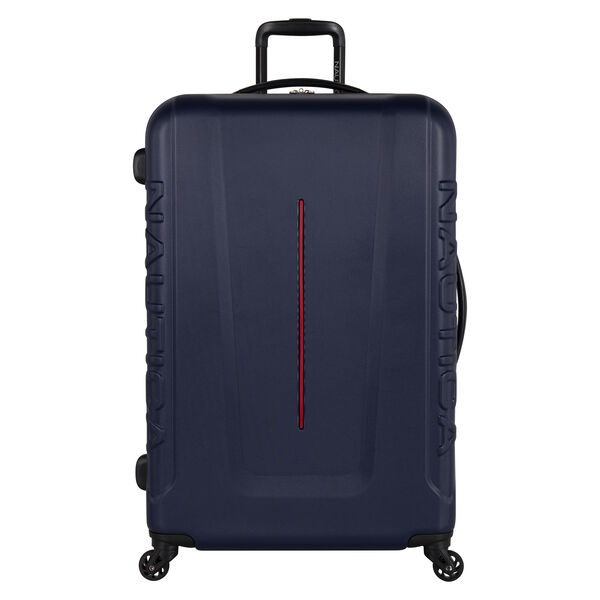 Vernon Bay Hardside Spinner Luggage in Navy/Red - Pure Dark Pacific Wash